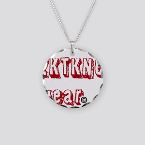 zktkno wear red Necklace Circle Charm