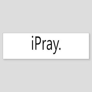 iPray Sticker (Bumper)