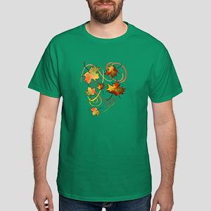 Racing The Autumn Wind Dark T-Shirt