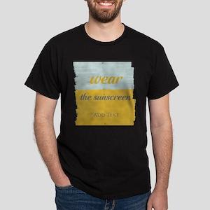 Motivational Wear The Sunscreen Vacation T-Shirt