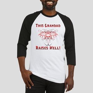 Grandad Raises Hell Baseball Jersey