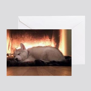 Sleeping Puppy Greeting Cards (pk Of 10 Cards)
