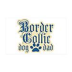 Border Collie 38.5 x 24.5 Wall Peel