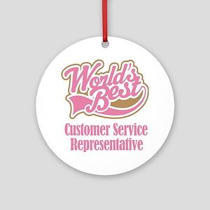 Customer Service Representative Gift Ornament (Rou