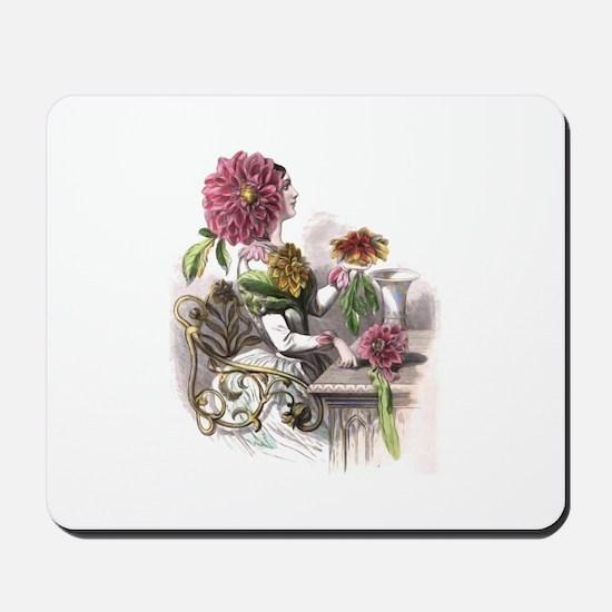 Dahlia Mousepad