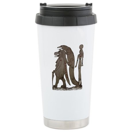 Egyptian,Hippo,Croc & Isis Stainless Steel Travel