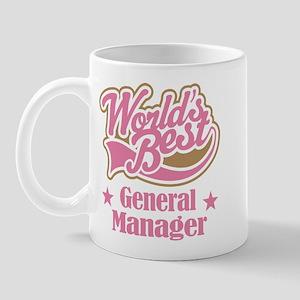 General Manager Gift Mug
