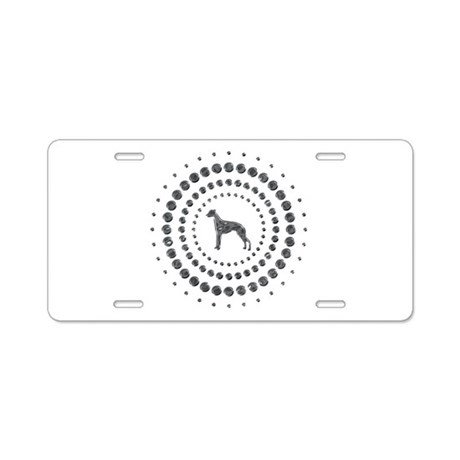Whippet Aluminum License Plate