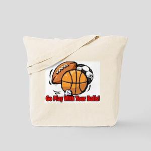Rather Wrestle Tote Bag