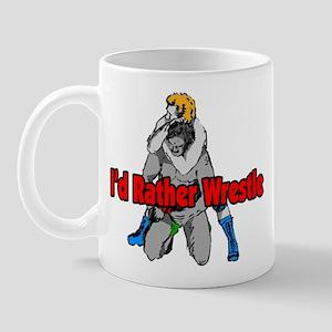 Rather Wrestle Mug