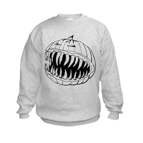 Angry Pumpkin Kids Sweatshirt