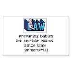 Legal Mother's Sticker (Rectangle 10 pk)