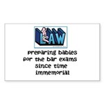 Legal Mother's Sticker (Rectangle)