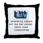 Legal Mother's Throw Pillow