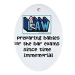 Legal Mother's Ornament (Oval)