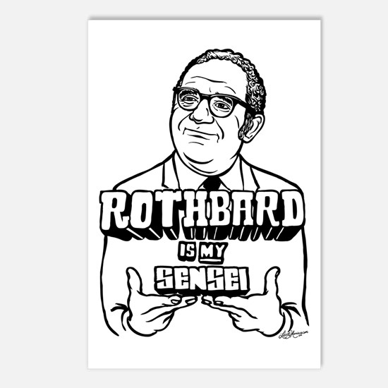 Rothbard Is My Sensei Postcards (Package of 8)