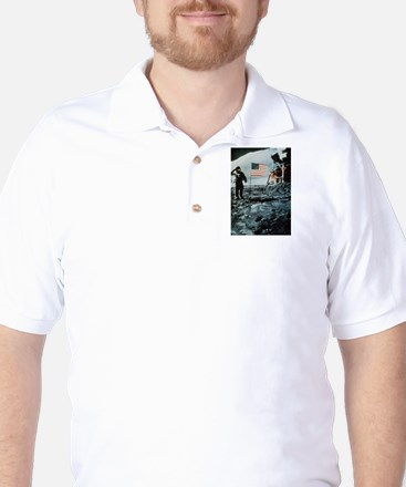 One Giant Leap For Mankind Golf Shirt