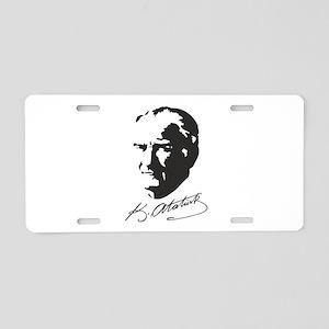 Muatafa Kemal Atatürk Aluminum License Plate
