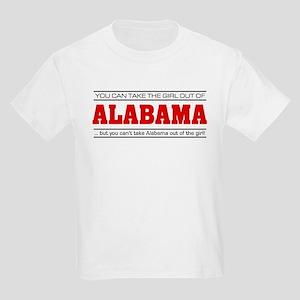 'Girl From Alabama' Kids Light T-Shirt