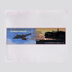 91st BG - Throw Blanket