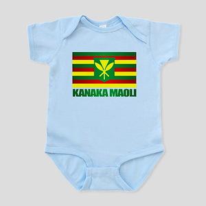 Kanaka Maoli Flag Body Suit