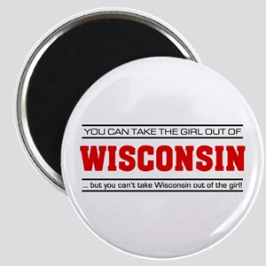 'Girl From Wisconsin' Magnet