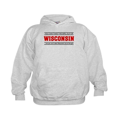 'Girl From Wisconsin' Kids Hoodie
