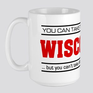 'Girl From Wisconsin' Large Mug