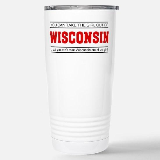 'Girl From Wisconsin' Stainless Steel Travel Mug
