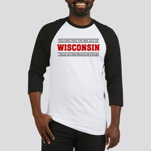'Girl From Wisconsin' Baseball Jersey