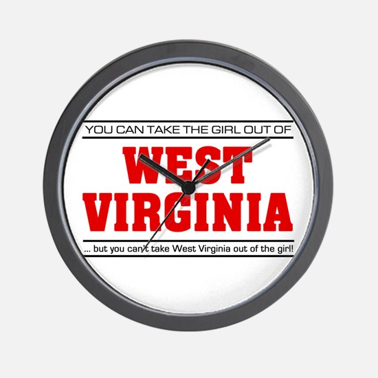 'Girl From West Virginia' Wall Clock