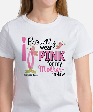 I Wear Pink 27 Breast Cancer Women's T-Shirt