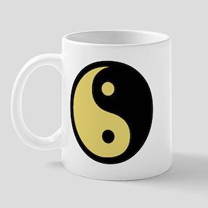 Ying Yang Yellow Mug