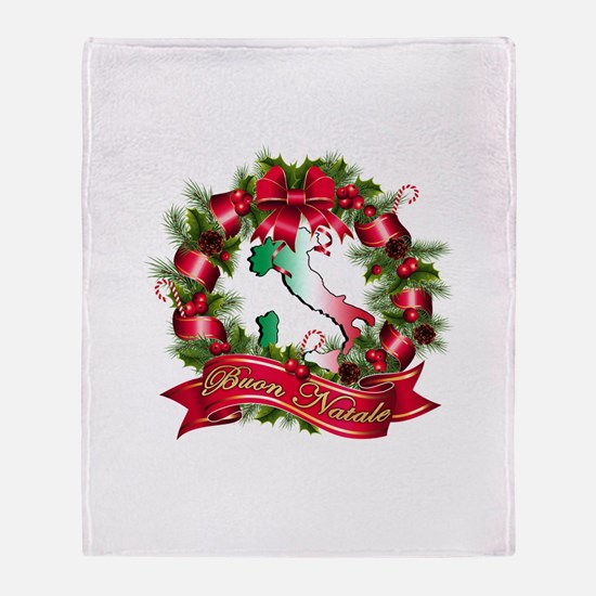 Buon natale Throw Blanket