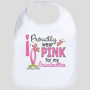 I Wear Pink 27 Breast Cancer Bib