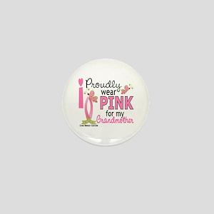 I Wear Pink 27 Breast Cancer Mini Button