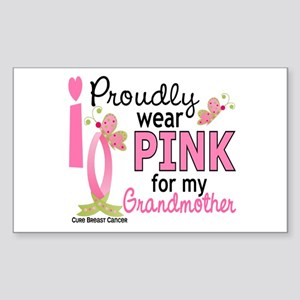 I Wear Pink 27 Breast Cancer Sticker (Rectangle)