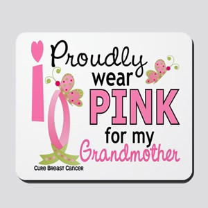 I Wear Pink 27 Breast Cancer Mousepad