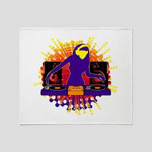 I Am The DJ Throw Blanket