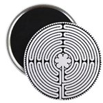 Chartres Labyrinth Magnet
