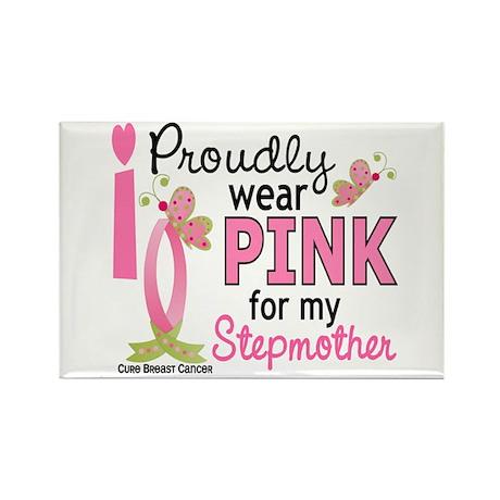 I Wear Pink 27 Breast Cancer Rectangle Magnet (10