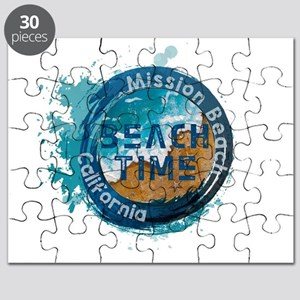 California - Mission Beach Puzzle
