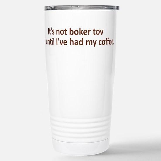 Boker Tov Stainless Steel Travel Mug