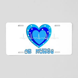 Registered Nurse IV Aluminum License Plate