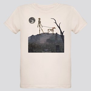 walk in the cemetery Organic Kids T-Shirt