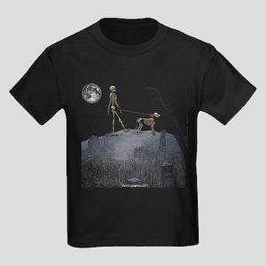 walk in the cemetery Kids Dark T-Shirt