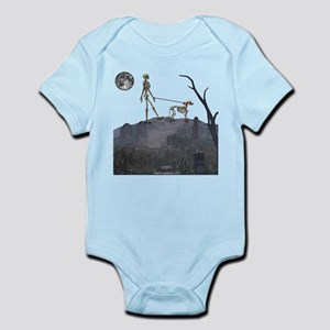 walk in the cemetery Infant Bodysuit