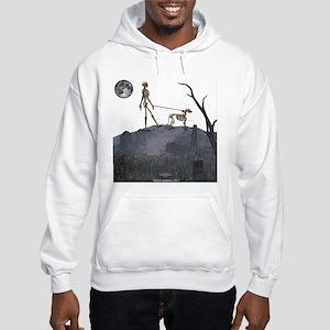 walk in the cemetery Hooded Sweatshirt