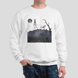 walk in the cemetery Sweatshirt