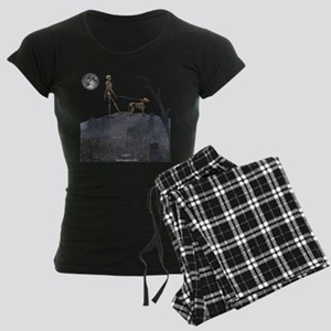walk in the cemetery Women's Dark Pajamas